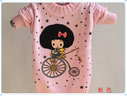 Wholesale Cheap Baby Sweaters - Cheap Classic DOLL Wholesale baby girls sweater Children sweater sweater+free shipping