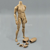 Wholesale 12 inch figures - New Arrivals 2015 Narrow Shoulder 1 6 Scale 12 inch Male Nude Action Figure Body With Neck Version 5.0 For TTM19 Free Shipping