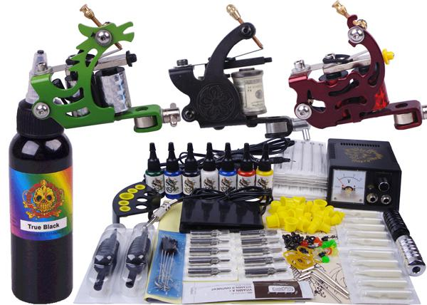 A full set of Tattoo kit tattoo tool equipment high-grade machine Body Art kit YLT-21