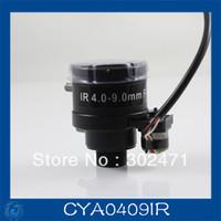 "Wholesale 9mm Lens Security Cameras - cctv camera lens 4-9mm Auto Iris lens, 1 3"" M12 mount F1.6 for Security Camera, Free shipping"