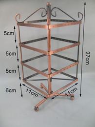 Wholesale Vintage Metal Rack - VINTAGE JEWELRY EARRING DISPLAY HOLDER STAND METAL RACK