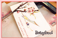 Wholesale New Love Poems - New I love your poems about Miss you box postcard  Album Gift 30Pcs  set Greeting card  Free Shipping
