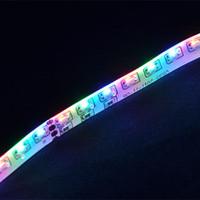 Wholesale Smd Strip Side Emitting - NEW RGB COLOR SMD 335 LED Strip Light DC12V 5M Glue Waterproof IP65 120leds m 600leds Totally Side Emitting Lighting