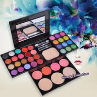 Wholesale Makeup Cosmetics Kit Set - Pro Cosmetic 39 Color Gorgeous Lipsticks Lip Gloss Makeup Kit Palette Kit Sets Cosmetic Tools Kit De Maquiagem Necessaire 0822
