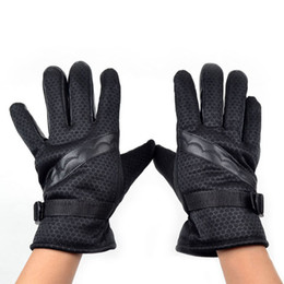 $enCountryForm.capitalKeyWord NZ - Fashion Men Winter Skidproof Driving Motorcycle Biker Full Finger Warm Gloves hv5n