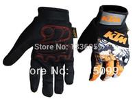 оригинальная перчатка оптовых-New original 2015 Motorbike Cycling Bike Gloves riding off-road sports Glove orange motorcycle gloves Fingerless glove