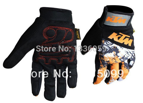 New original 2015 Motorbike Cycling Bike Gloves riding off-road sports Glove orange motorcycle gloves Fingerless glove