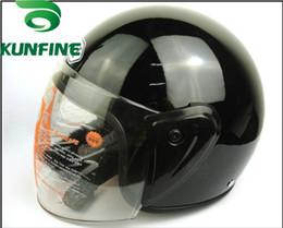 Wholesale Motorcycle Open Face Dot Helmet - Free Shipping Wholesale Price Open Face ebick helmets motorcycle helmets with neckerchief winter helmet DOT Certification