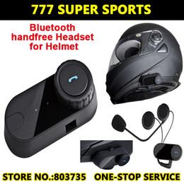 Wholesale Motorcycle Radio Control - Waterproof BT Wireless Bluetooth Headsets Motorcycle Helmets Headphone Control For MP3 4 Radio iPod