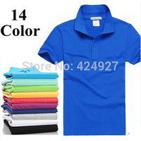 Wholesale Vintage Tennis Shirt - New 2015 men's brand t shirts for men polo shirts vintage sports jerseys golf tennis undershirts casual shirts  mens t-shirt