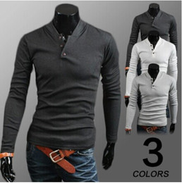 Noël Polos Pas Cher-New Wool 2015 Mens V Neck Marque Man Christmas Casual Shirt Jumpers Pull Hommes Cardigan en maille Polo