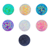 Wholesale Titanium Jewellery Wholesale - Snaps Jewelry 10PCs Flower Cameo Multicolor Mixed Ginger Snap Buttons For Snap Button Jewellery 18mm K85561