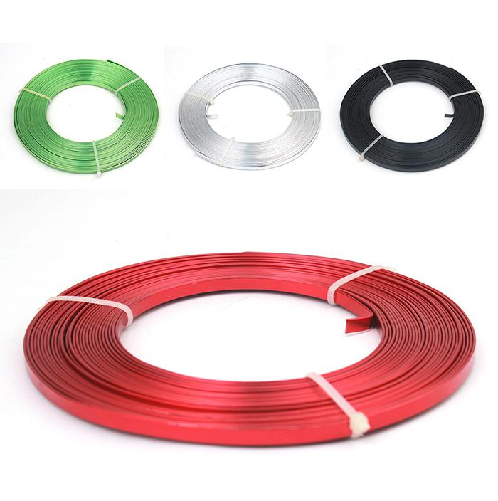 Best Wholesale Flat Anodized Aluminum Wire, Green Red Black Silver ...