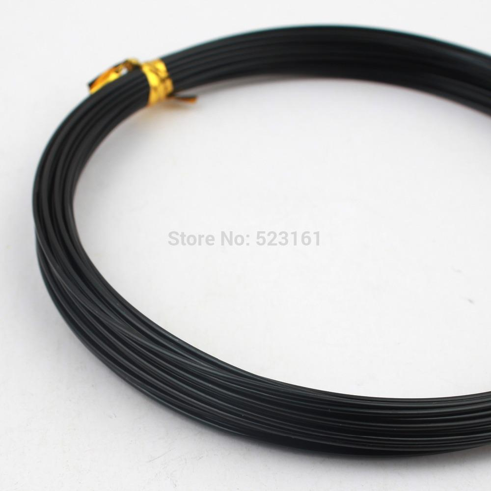 Best Wholesale 1mm Or 18 Gauge Black Plated Aluminum Wire Coil 10m ...