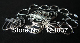 Wholesale Leverback Wires - Wholesale-NEW arrival!! 925 logo!! earring fitting leverback earings wire lever back split ring Jewelry Accessorie nickel-free lead-free