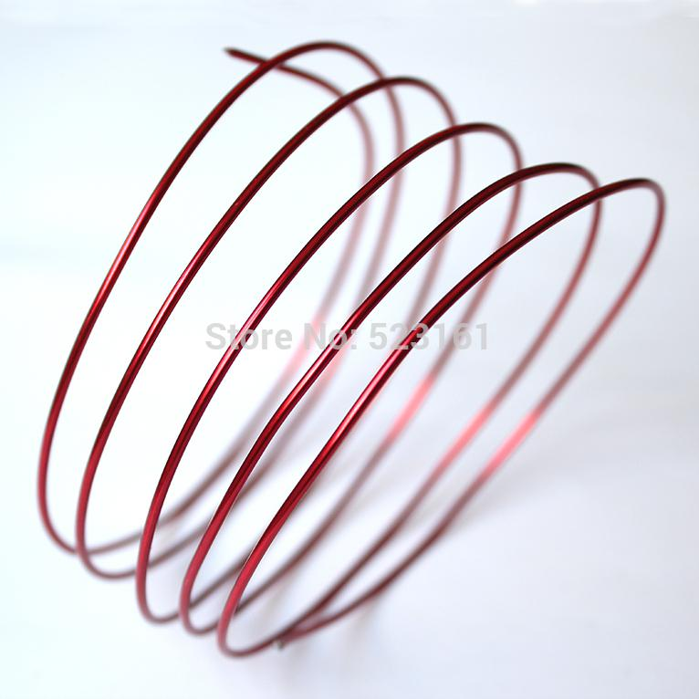 Wholesale-new anodized aluminum wire craft 2.5mm thickness 10 ...