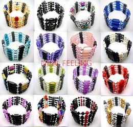 Wholesale Wholesale Magnetic Hematite - Wholesale-10pcs Women's Magnetic Genuine Hematite Necklace,Hematite Bracelet,Hematite Ankle