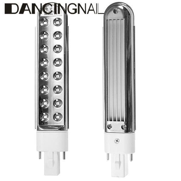 Nuevo Profesional 5 W Bombilla LED Para Lámpara UV Arte de Uñas Secador de Tubo de Esmalte de Uñas de Gel de Repuesto Cur-ing Uñas Máquina de Belleza herramientas