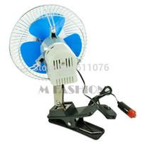 Wholesale Ac Powered Mini Fan - Wholesale-2015 New Arrivals 12V Powered Mini Automobile Fan Car Truck Vehicle Cooling Cool Air Fan 12366