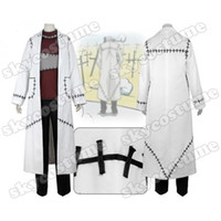 Wholesale Soul Eater Free Cosplay - Soul Eater Franken Stein Doctor Adult Men Halloween Cosplay Costume Free Shiping