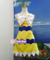 Wholesale Wendy Marvell Cosplay - Free Shipping Fairy Tail Wendy Marvell Custom-made Cosplay Costume