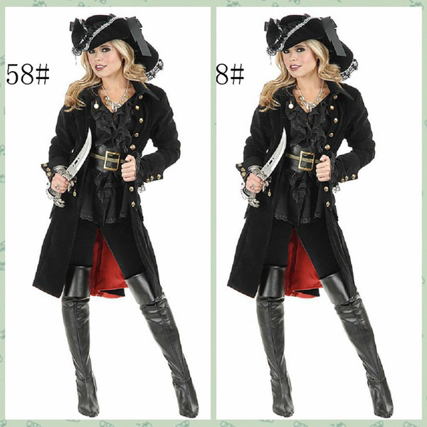 High Quality Queen Knight Halloween Woman Pirate Costumes Women Sexy Classical Somali Pirate Cosplay Costumes Hot  sc 1 st  DHgate.com & High Quality Queen Knight Halloween Woman Pirate Costumes Women Sexy ...