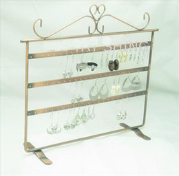 Earring Displays Case Australia - Earring Display Stand Holder Rack Show Case for 69 Holes