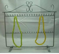 Wholesale Metal Jewelry Display Necklace - New necklace & bracelet 40 hooks ,display stand rack