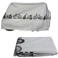 Wholesale Bike Dust Rain - Bike Motorcycle Rain Dust Cover Waterproof Outdoor Scooter Protector Gray hv3n