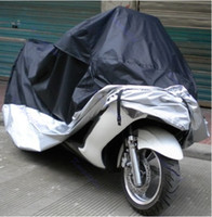 Wholesale Rain Cover Protector - B76 Waterproof Outdoor UV Protector Motorbike Rain Dust Bike Motorcycle Cover XXL