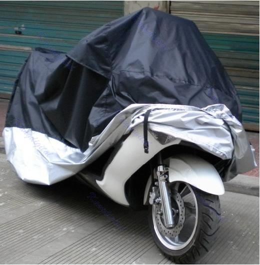 B76 À Prova D 'Água Ao Ar Livre UV Protetor de Moto Chuva Poeira Da Bicicleta Da Motocicleta Capa XXL