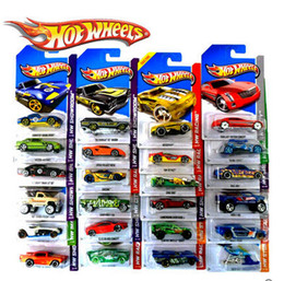 Wholesale Wholesale Hot Wheels Toys - 100% Authentic 2015 Hot Wheels toy boy warm four loaded small car alloy car model toy children 04 A0309