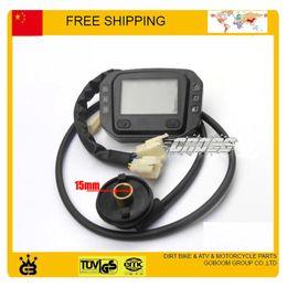 Wholesale Motorcycle Speedometer Sensor - ZS-GY JIALING CQR motorcycle speedometer DIRT PIT MONKEY DIGITAL screen speed sensor free shipping