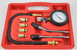 free shipping engine Coupons - Petrol Engine Compression Tester Test Gauge Kit Car Motorcycle Garage Tool Free shipping