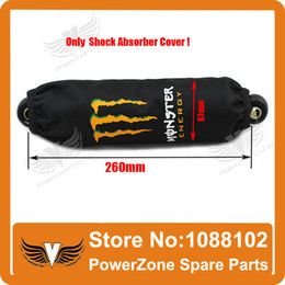 Wholesale Cover For Quad - Rear Shock Absorber Cover Protector Guard Suspension Cover for Motorcycle Dirt Pit Bike ATV Quad Free Shipping