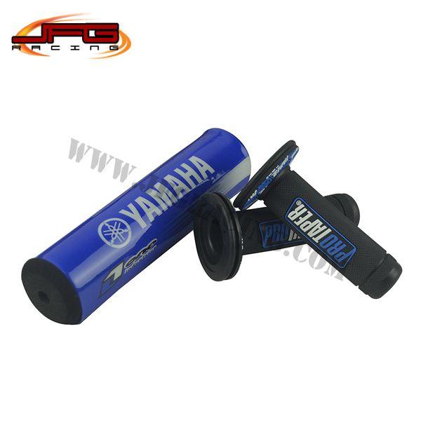 best selling MX 7 8 YZF Handlebar Pad Pro Taper Handle Bar Girps for Pit Dirt Bike Motorcycle YZ85 YZ125 YZ250 YZF250 YZF450 Motocross