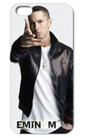 Wholesale Eminem Iphone Cover - Wholesale-2015 Hot Sale Eminem Hard Back Caso Case Cover for iPhone 4 4S 5 5S 5C 6 PLUS Free Shipping 002