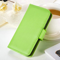 Wholesale Case 4s Bob - Wholesale-Luxury Wallet Style PU leather case for iPhone 4 4S 4g Flip With Stand + 2 Credit Card Holder + 1 Photo Frame Drop Ship BOB