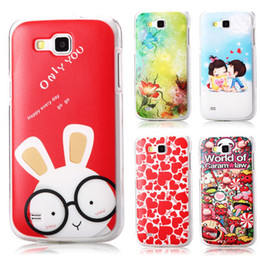 Wholesale Galaxy Premier Case Wholesale - Wholesale-2015 New Hot High Quality PC Painted Cute Cartoon UV Print Hard Cover Case For Samsung Galaxy Premier i9260 i9268 Cases Shell