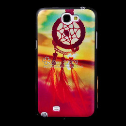 Wholesale Aztec Phone Cases - Wholesale-Aztec Tribal Catcher Dream Catcher 3D Painting Tiger Plastic Hard Back Case for Samsung Galaxy Note 2 N7100 Mobile Phone Cases