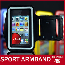 Wholesale 3gs Iphone Accessories - Soft Belt Sport Armband For iPhone 4S Colorful Arm Band For iPhone 4 3G 3GS Travel Accessory For iPod itouch Video FREE SHIPPING