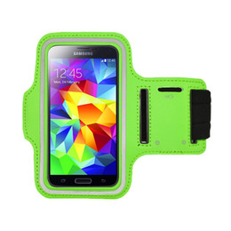 Wholesale Running SPORT GYM Armband Case for Galaxy S3 i9300 S4 I9500 S5 i9600 S6 G9200 Waterproof Jogging Phone Arm Band Belt