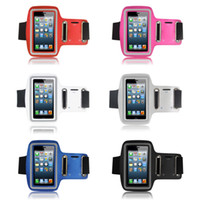 Wholesale Nexus 4s Case - Free Shipping Rainproof Gym Sport Running Armband Holder Case Cover For iPhone 4 4S 5 5C 5S LG Nexus 4 5