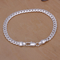 New 925 sterling silver bangles & bracelets for men fashion ...