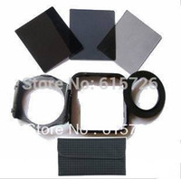 Wholesale Square Filter Holder - Wholesale-72mm Adapter ring+ND2 4 8 Filter+holder+Square Lens Hood +1pcs case For Cokin P series+free shipping +tracking number