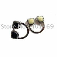 Wholesale Wholesale Eyeglass Pin Holders - Wholesale-Free shipping crystals charm eyeglass holder pin jewelry
