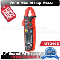 pince uni achat en gros de-Véritable RMS UNI-T UT210E Mini Pince ampèremètres numérique ampèremètre dc voltimetro ampèremètre UNI T UT 210E dc pince multimètre