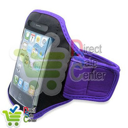 Wholesale Deluxe 4g - for iPhone Armband,Deluxe Sport Armband Cover Case for iPhone 4 4G 4S 4GS,Mobile Phone Case,DHL Free Shipping