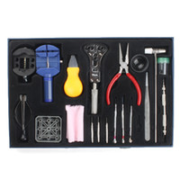 Wholesale 20 Piece Watch Repair Tool Kit with Placement Box