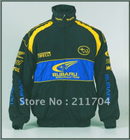Wholesale F1 Racing Clothing - Men's Cotton Coat ,for F1 Subaru Team Latest Cotton Jacket, Coat Embroidery Racing Clothes C-0030